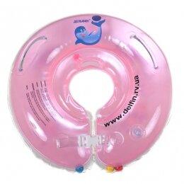 Круг Дельфин 4+ розовый