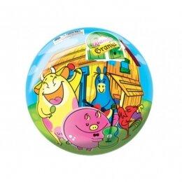 Мяч 8 1/2'' (22 см) тяжёлый полноцветный Петушок