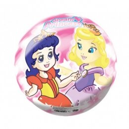 Мяч 8 1/2'' (22 см) тяжёлый полноцветный Сказочная принцесса
