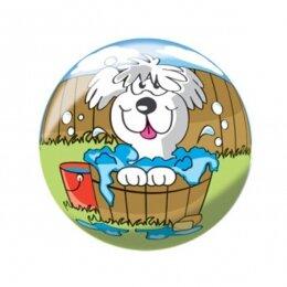 Мяч 8 1/2'' (22 см) тяжёлый полноцветный Щенок