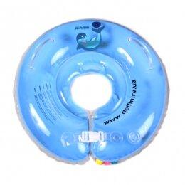 Круг Дельфин 4+ голубой