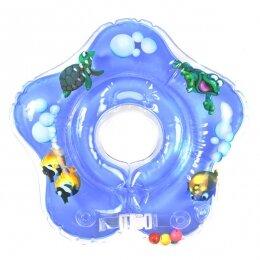 Круг Дельфин 0+ голубой
