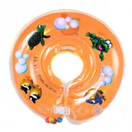 Круг Дельфин 4+ оранжевый