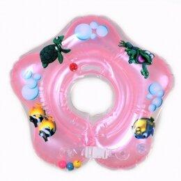 Круг Дельфин 0+ розовый