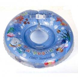 Круг Дельфин EuroStandard голубой