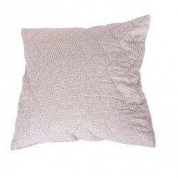 Подушка стеганая со льном