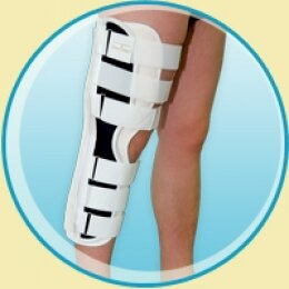 Тутор на коленный сустав, универсальный, длина 52 см - ПНК-2