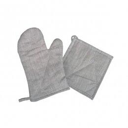 Набор из рукавички и прихватки