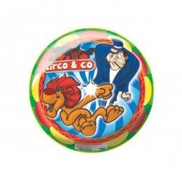 Мяч 8 1/2'' (22 см) тяжёлый полноцветный Цирк