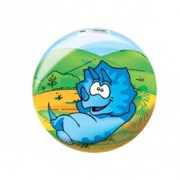 Мяч 8 1/2'' (22 см) тяжёлый полноцветный Динозаврики 2