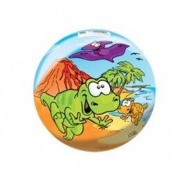 Мяч 8 1/2'' (22 см) тяжёлый полноцветный Динозаврики
