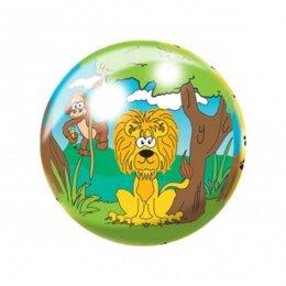Мяч 8 1/2'' (22 см) тяжёлый полноцветный Джунгли