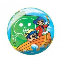 Мяч 8 1/2'' (22 см) тяжёлый полноцветный Пираты